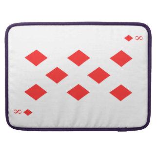 8 von Diamanten Sleeve Für MacBook Pro