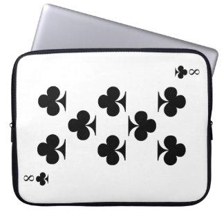 8 von Vereinen Laptopschutzhülle