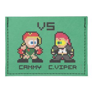 8bit Cammy GEGEN C.Viper Tyvek® Kreditkartenhalter