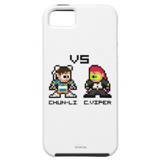 8bit Chun-Li GEGEN C.Viper iPhone 5 Schutzhüllen