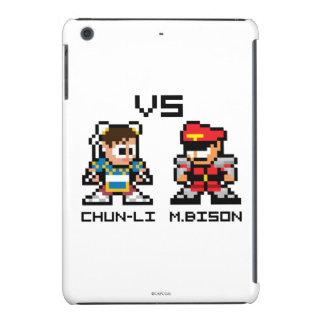8bit Chun-Li GEGEN M.Bison iPad Mini Retina Schalen