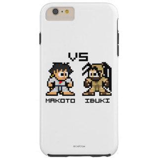 8bit Makoto GEGEN Ibuki Tough iPhone 6 Plus Hülle