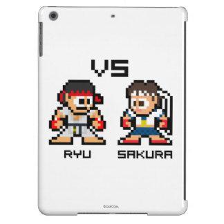 8bit Ryu GEGEN Kirschblüte iPad Air Hülle