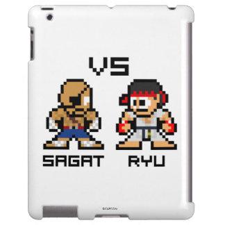 8bit Sagat GEGEN Ryu iPad Hülle