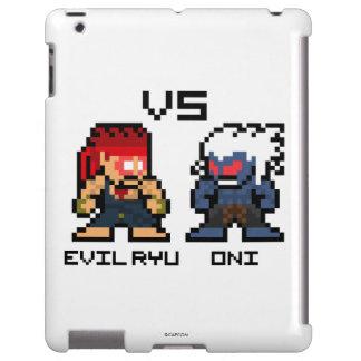 8bit schlechtes Ryu GEGEN Oni iPad Hülle