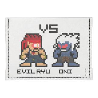 8bit schlechtes Ryu GEGEN Oni Tyvek® Kreditkartenetui