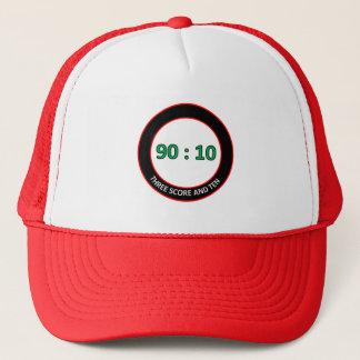 90:10 Fernlastfahrer-Hut Truckerkappe