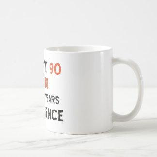90. coole Geburtstagsentwürfe Kaffeetasse