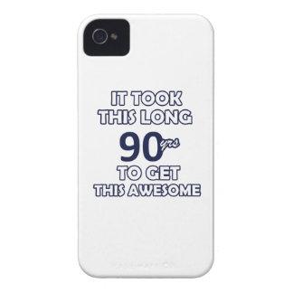 90-Geburtstags-Entwurf iPhone 4 Hüllen
