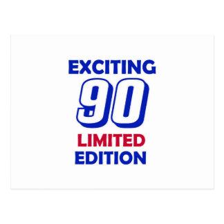90 Geburtstags-Entwurf Postkarte