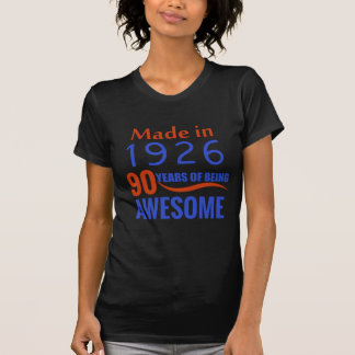 90-Geburtstags-Entwurf T-Shirt