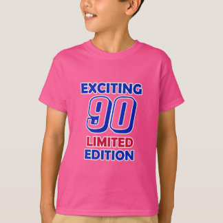 90 Geburtstags-Entwurf T-Shirt
