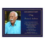 90. Geburtstags-Party Einladungen - addieren Sie 12,7 X 17,8 Cm Einladungskarte