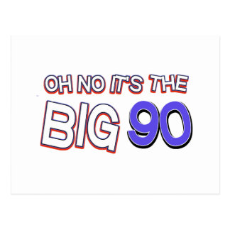 90. Geburtstagsentwürfe Postkarte