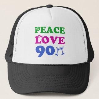 90. Geburtstagsentwürfe Truckerkappe