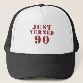 90 gerade gedreht Geburtstag Truckerkappe