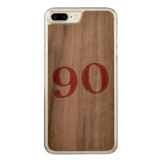 90 Jahre Jahrestag Carved iPhone 8 Plus/7 Plus Hülle