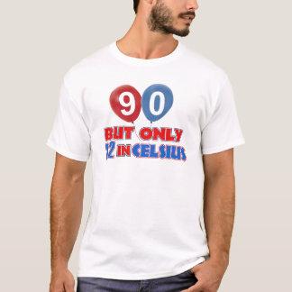 90. Jahrgeburtstagsentwürfe T-Shirt