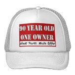 90 Jährige, ein Inhaber - die Bedarfs-Teile, mache Retrokult Cap