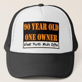 90 Jährige, ein Inhaber - die Bedarfs-Teile, Truckerkappe