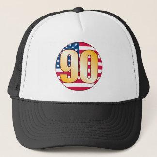 90 USA-Gold Truckerkappe