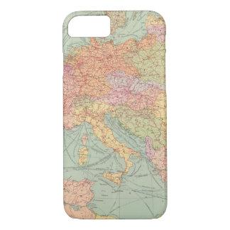 910 Linien Kommunikation, Mitteleuropa iPhone 8/7 Hülle