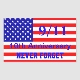 911 10. Jahrestags-patriotische Aufkleber