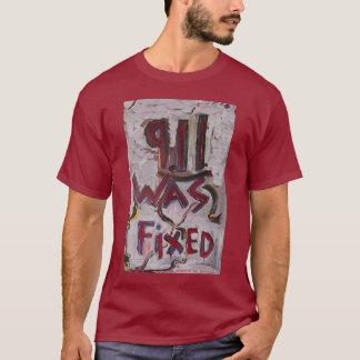 911 WAR ÖRTLICH FESTGELEGTES WEISS T-Shirt