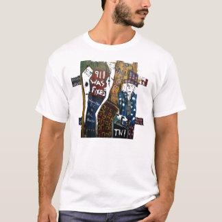 911 WAREN ÖRTLICH FESTGELEGTE HÖLZERNE T-Shirt
