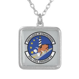 916th Ziviles Ingenieur-Geschwader Versilberte Kette