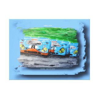917 !!!  Artwork Jean-Louis Glineur Leinwanddruck