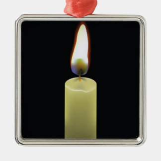 92Candle _rasterized Silbernes Ornament
