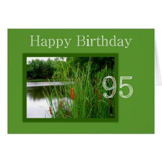 95. Alles- Gute zum Geburtstagkatzen-Schwänze auf Karte