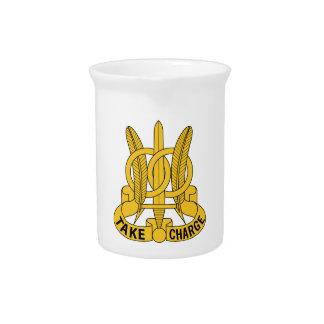 97. Militärpolizei-Bataillon Getränke Pitcher
