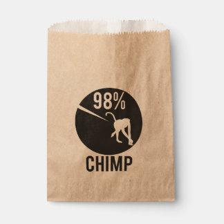 98% Schimpanse Geschenktütchen