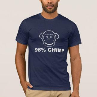 98% SCHIMPANSE Grafik-T-Stück T-Shirt