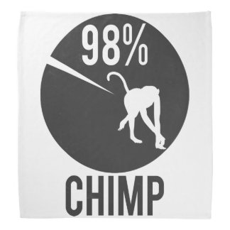 98% Schimpanse Kopftuch