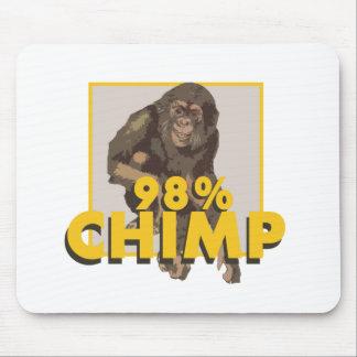 98% Schimpanse Mousepad