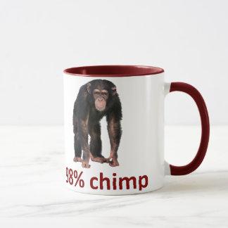 98% Schimpanse Tasse