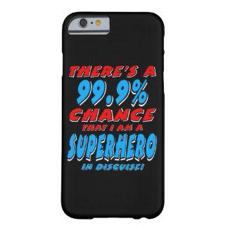 99,9% Ich bin ein SUPERHELD (weiß) Barely There iPhone 6 Hülle