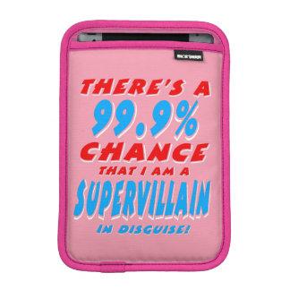 99,9% Ich bin ein SUPERschuft (weiß) Sleeve Für iPad Mini