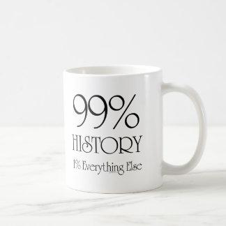 99% Geschichte Kaffeetasse