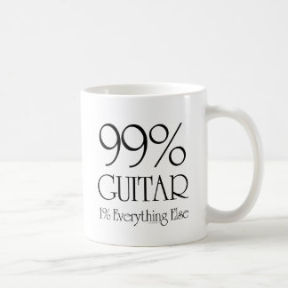 99% Gitarre Kaffeetasse