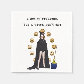 99 Probleme aber eine Hexe ist nicht eine Serviette