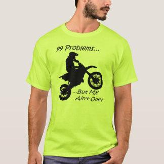 99 Probleme aber MX ist nicht eins! Schwarzes auf T-Shirt