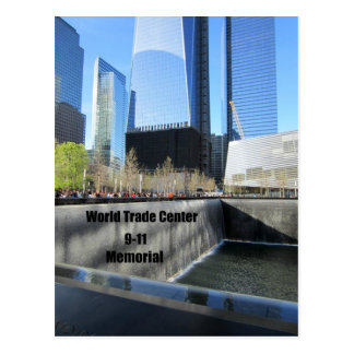 9/11 Denkmal, World Trade Center, New York City Postkarte