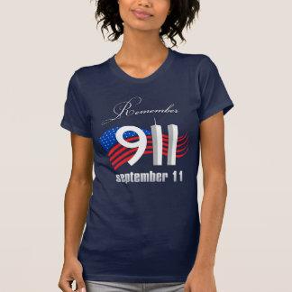 9/11 erinnern Sie sich am 11. September - an T-Shirt