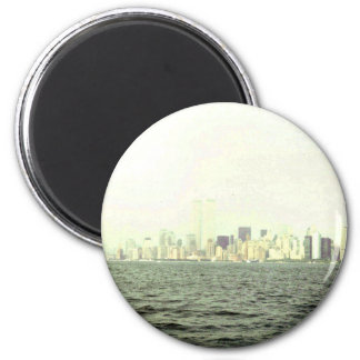 9/11 Revisted Runder Magnet 5,1 Cm