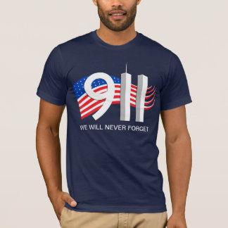 9. /11. September 11th - wir vergessen nie T-Shirt