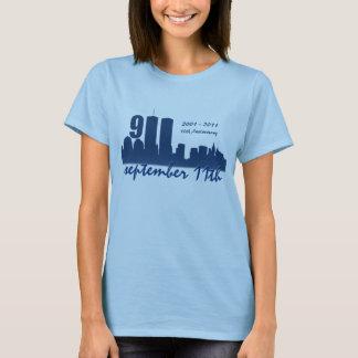 9. /11. September 11th WTC - Damen-angepasster T - T-Shirt